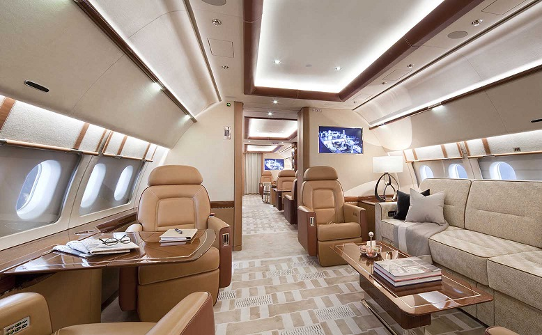 Airbus Corporate Jets display points way to future of business aviation