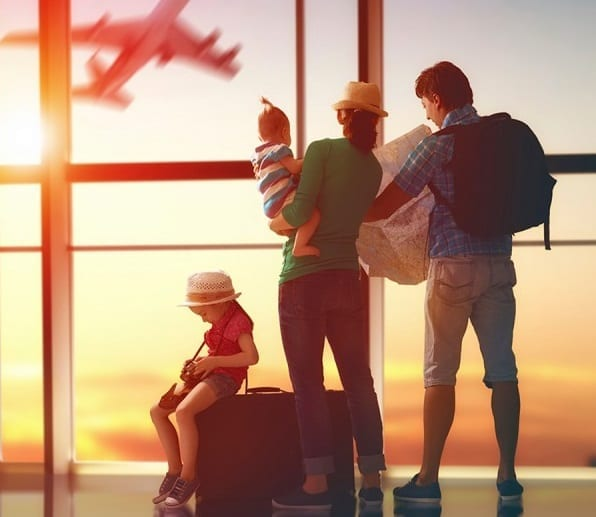 Travel better with children during the holidays