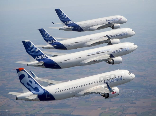 Airbus received 58 orders for jets in March