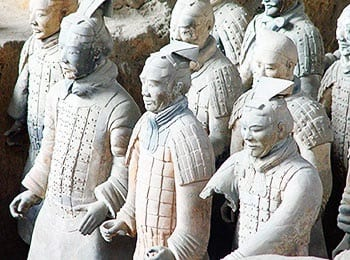 Xi'an brings terracotta warrior art installation to Berlin