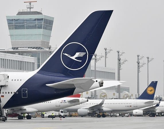 First Airbus A380 dons new Lufthansa Design