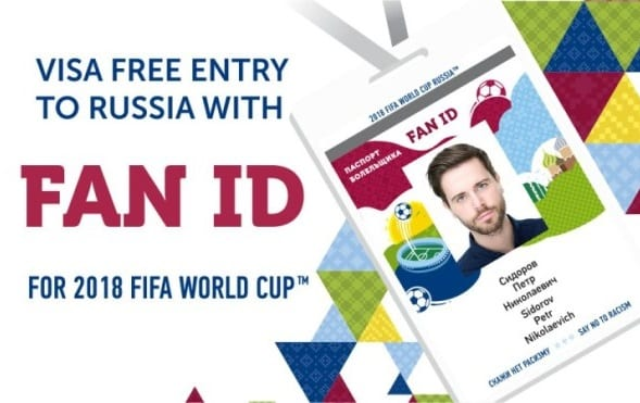 Russia: Visa-free entry for foreign visitors with 'Fan IDs' ends December 31