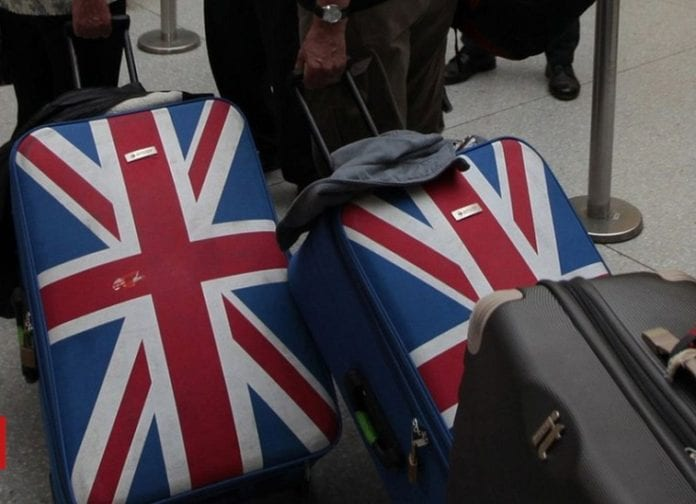 Brits Will Be Going Away This Christmas