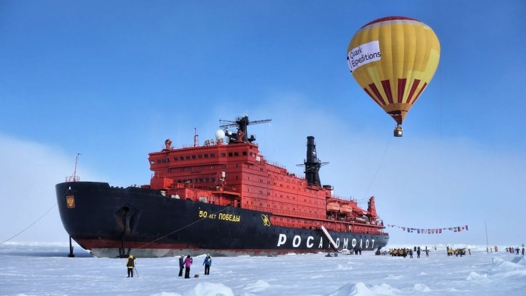 Russia's state nuclear corporation vows not to abandon North Pole tourism