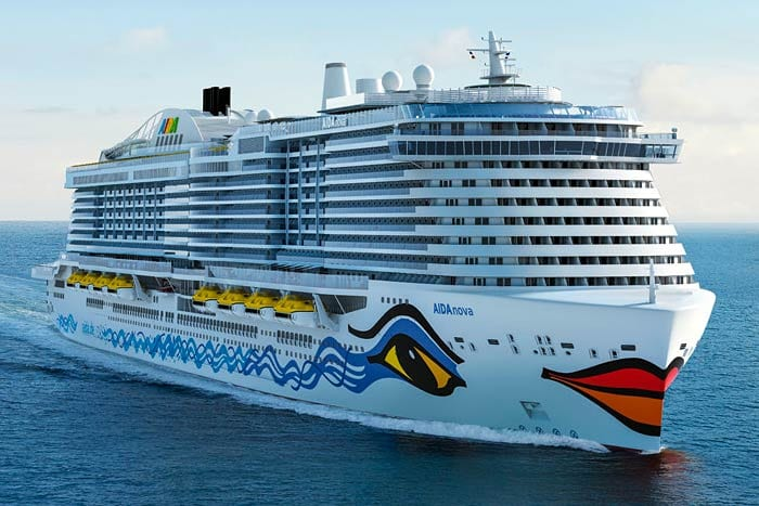 Carnival Corporation's AIDA Cruises Welcomes History-Making AIDAnova to Fleet