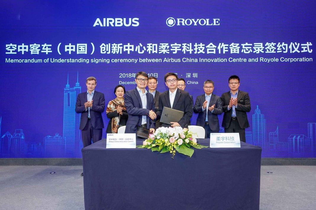 A winning partnership: Royole Technology and Airbus China Innovation Center