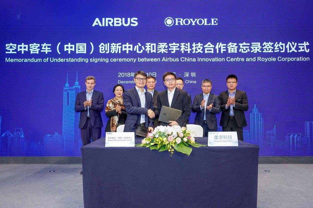 , A winning partnership: Royole Technology and Airbus China Innovation Center, Buzz travel | eTurboNews |Travel News