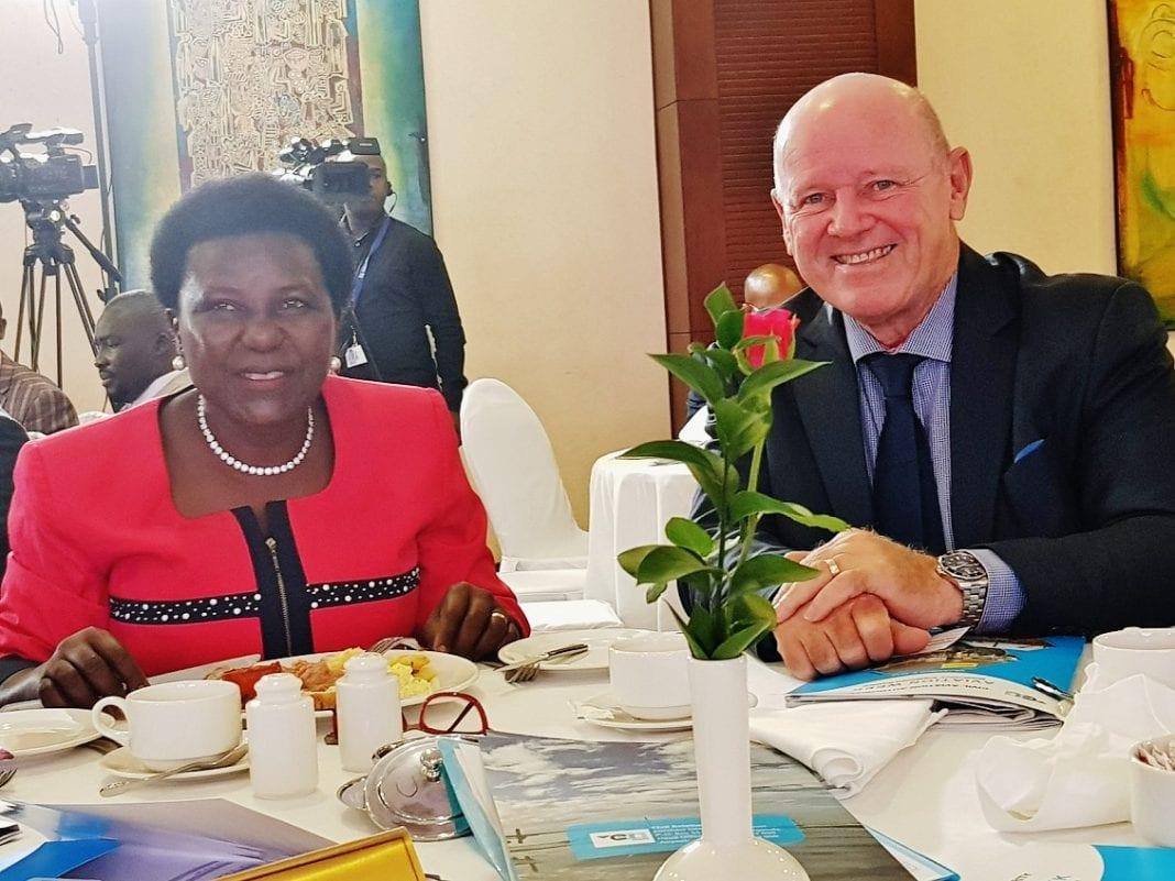 Seychelles' Alain St. Ange captures Uganda Civil Aviation Conference