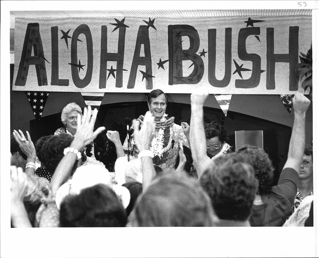 , Late President Bush lived the Aloha Spirit: A Testimonial by a Democratic Party Activist from Hawaii, Buzz travel | eTurboNews |Travel News