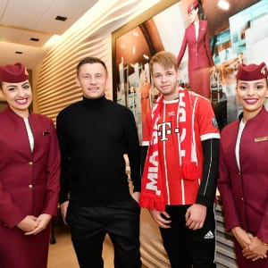 FC Bayern: Not only Munich is proud according to Qatar Airways