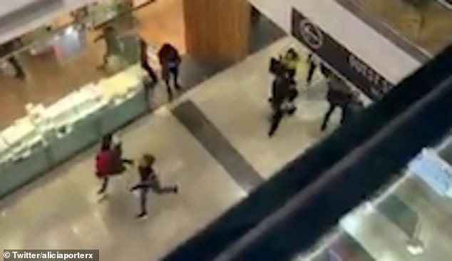 Terror in London shopping mall