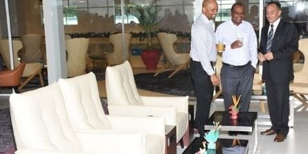 New airport lounge opens in Seychelles
