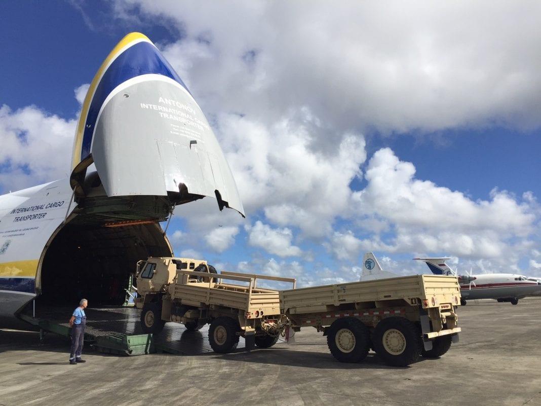 Air Partner delivering humanitarian aid