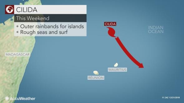 Mauritius braces for Tropical Cyclone Cilida