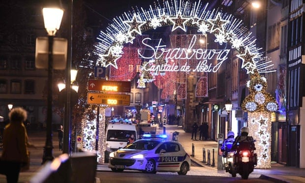 Terror shooting in Strasbourg: 2 dead near popular tourist Christmas Market