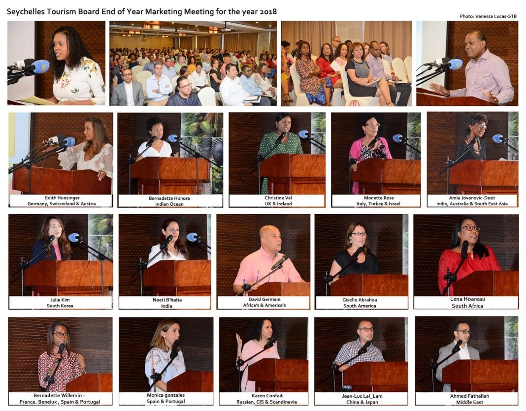 Seychelles Tourism presents figures to partners at annual marketing meeting