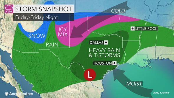 US travelers brace for major storm due to slam the south-central states