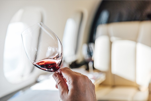"VistaJet's newest in-flight service is nothing to ""wine"" about"