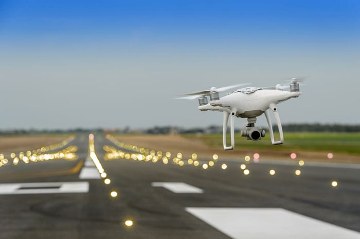 FAA grounds all flights at Newark airport after drones seen flying nearby