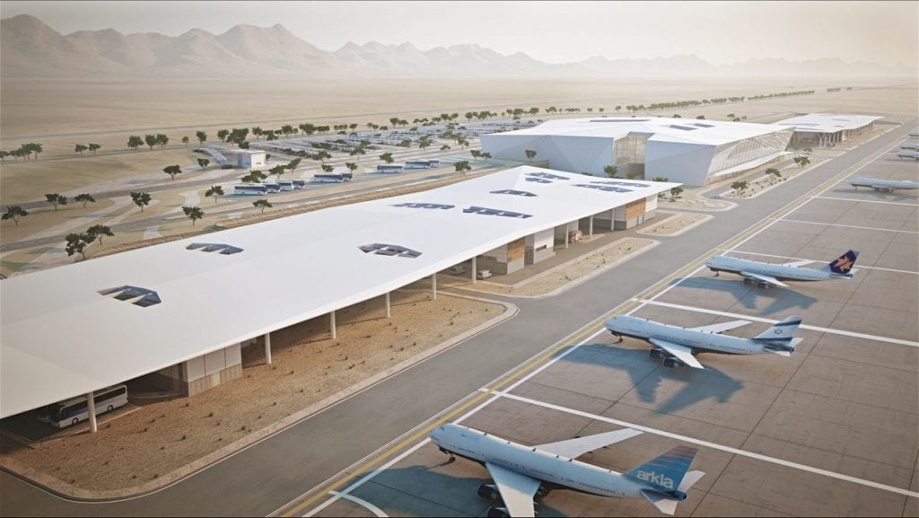 Israel's second international airport opens in January