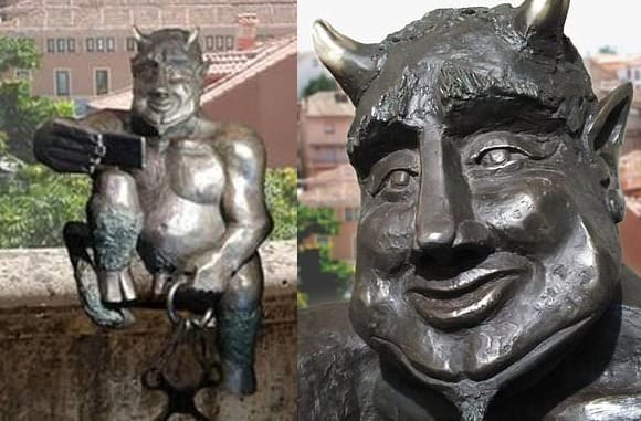 ", Segovia residents don't want tourists taking selfies with ""jovial"" Satan, Buzz travel 
