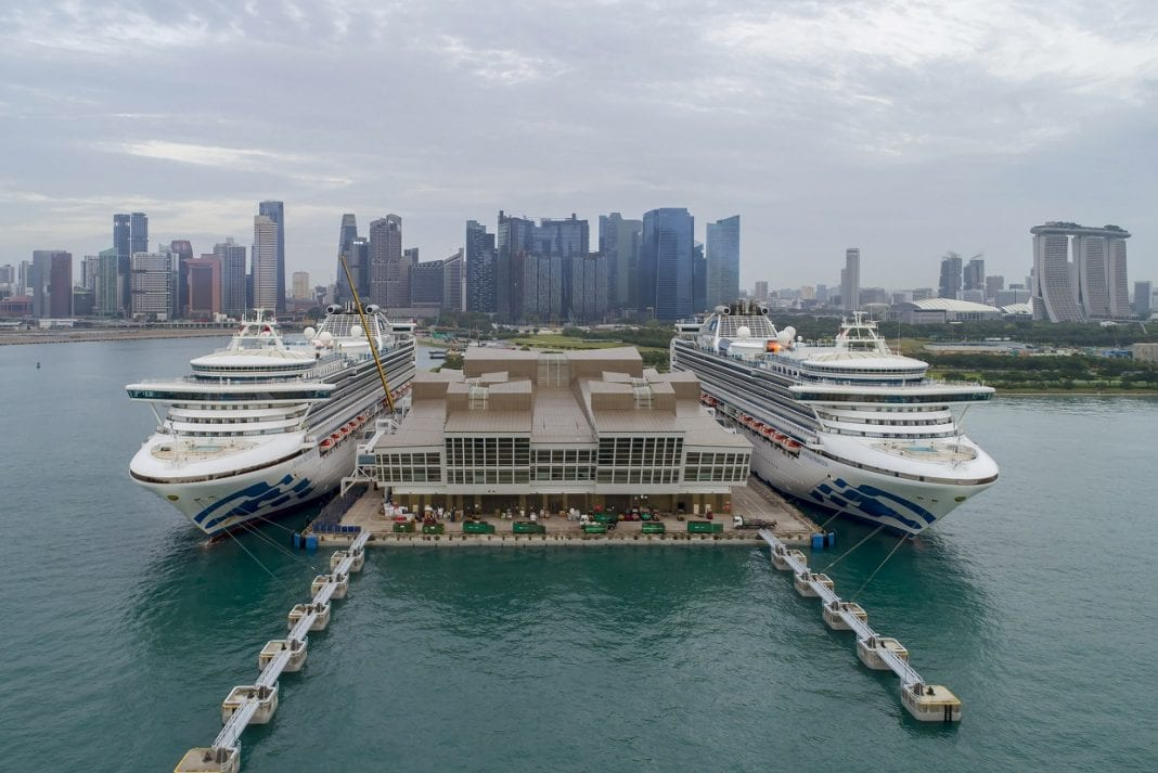 Princess Cruises' ships rendezvous in Southeast Asia for the first time