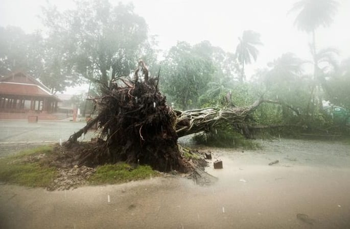 One killed, one missing as Tropical Storm Pabuk batters Thailand's southern coast