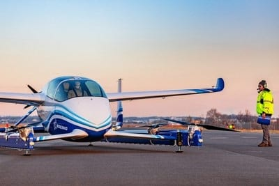 Boeing tests NeXt flying car prototype to advance urban air