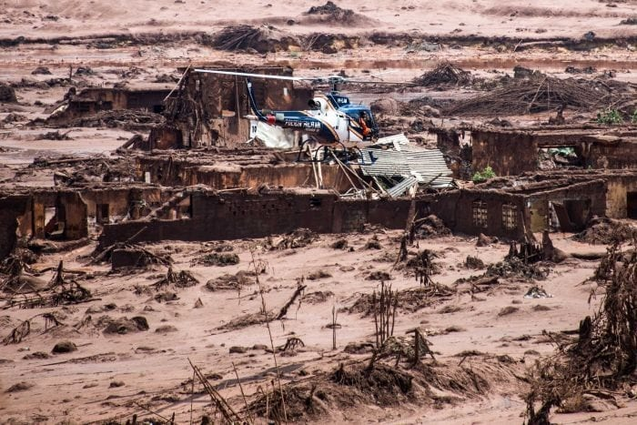 Scores of people trapped by sludge, 200 missing after Brazilian dam collapse