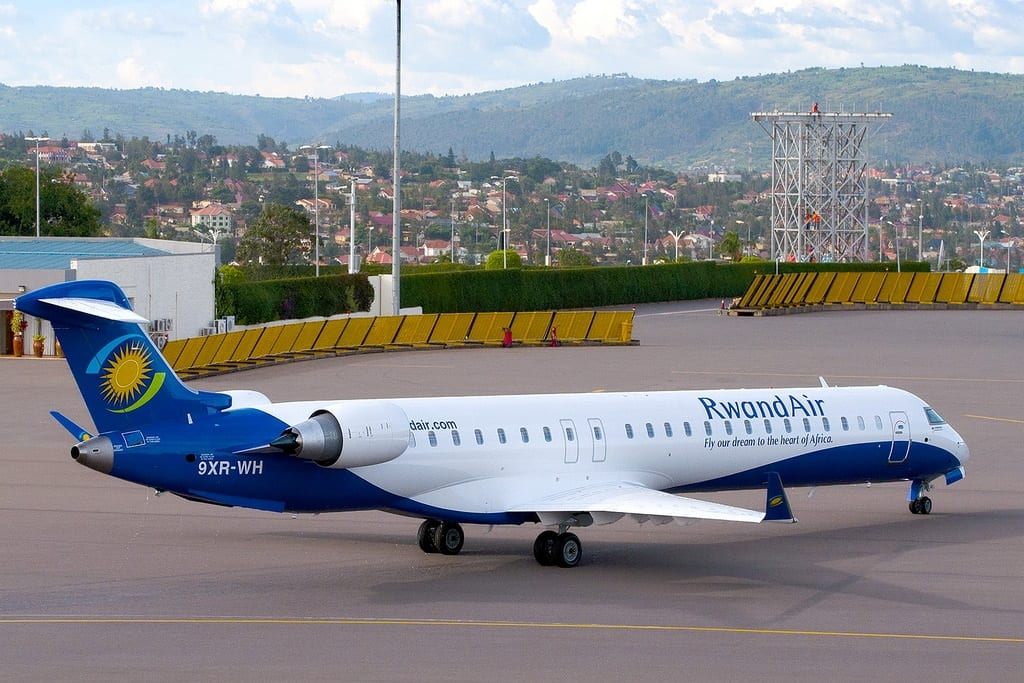 RwandAir flies into Ethiopian capital