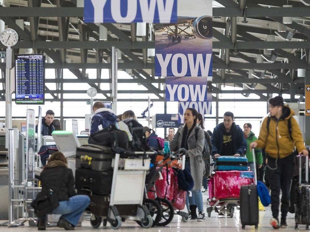 Ottawa International Airport sets new passenger record