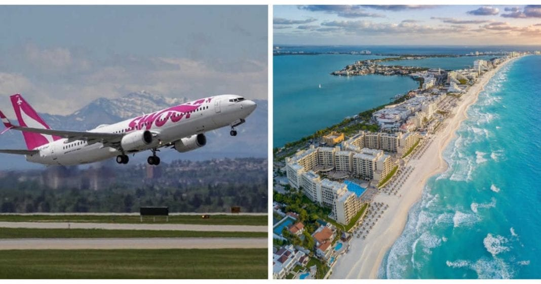 , Canadian ultra low-cost airline launches Cancun flights, Buzz travel | eTurboNews |Travel News