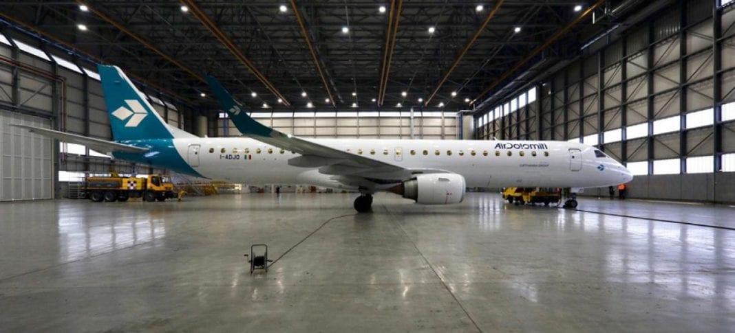 Air Dolomiti inaugurates new aircraft livery