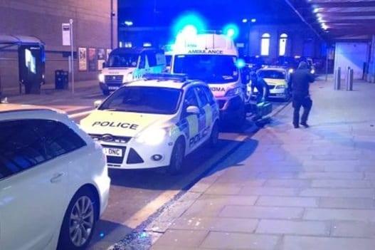 "Manchester police: New Year's Eve train station stabbing spree ""terrorist attack"""