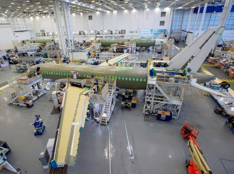 Airbus begins construction of US A220 manufacturing facility