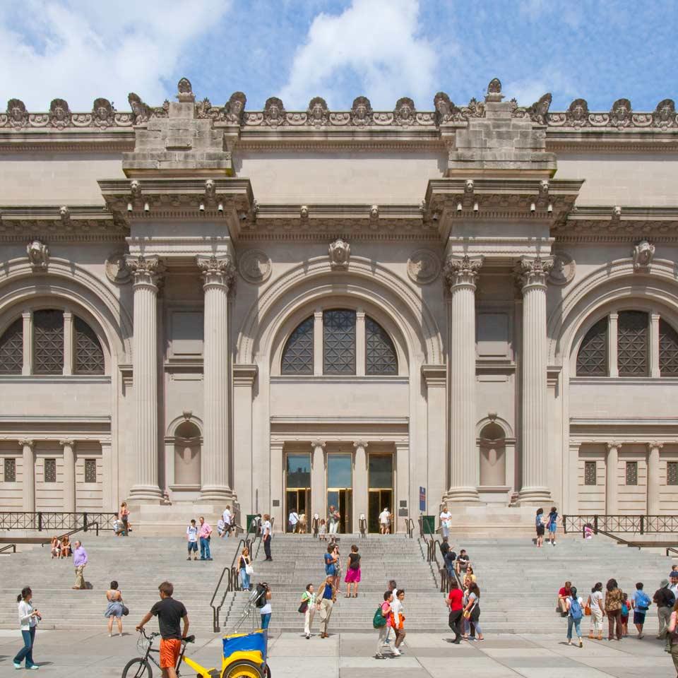 Louvre 10.2 million, New York Metropolitan Museum 7.4 million visitors in 2018