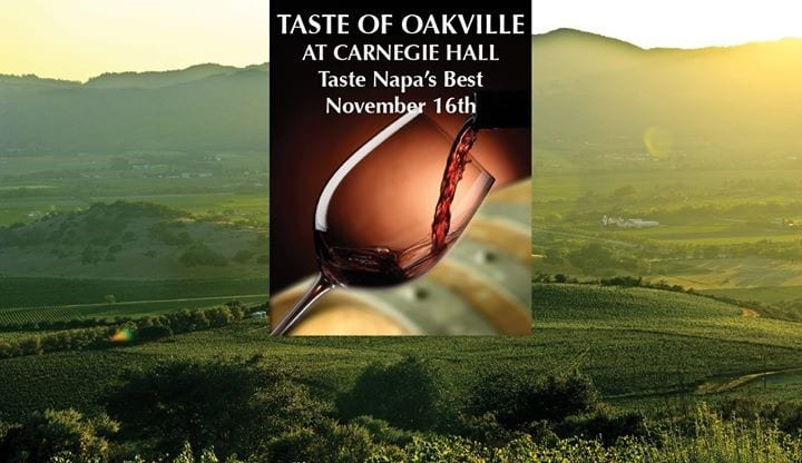 Oakville winegrowers, Oakville winegrowers present at Carnegie Hall, Buzz travel | eTurboNews |Travel News