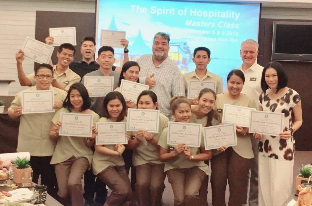 Spirit of Hospitality Masters Class takes service to new level