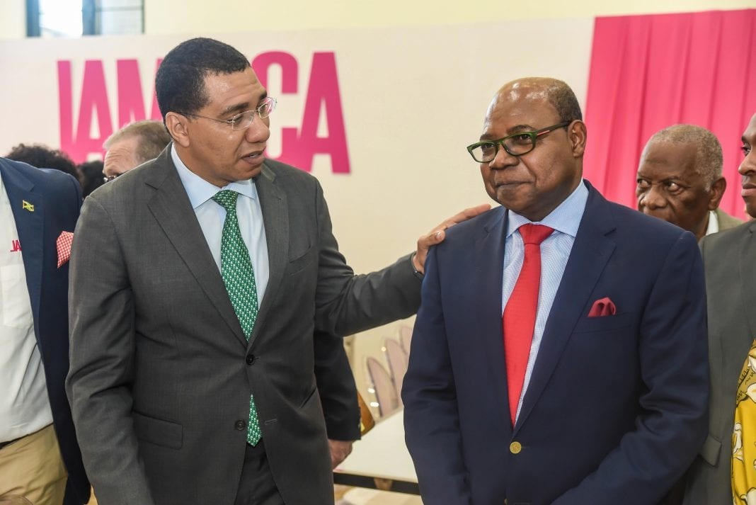 Jamaica Prime Minister calls for greater collaboration for sustainable resilience in tourism sector