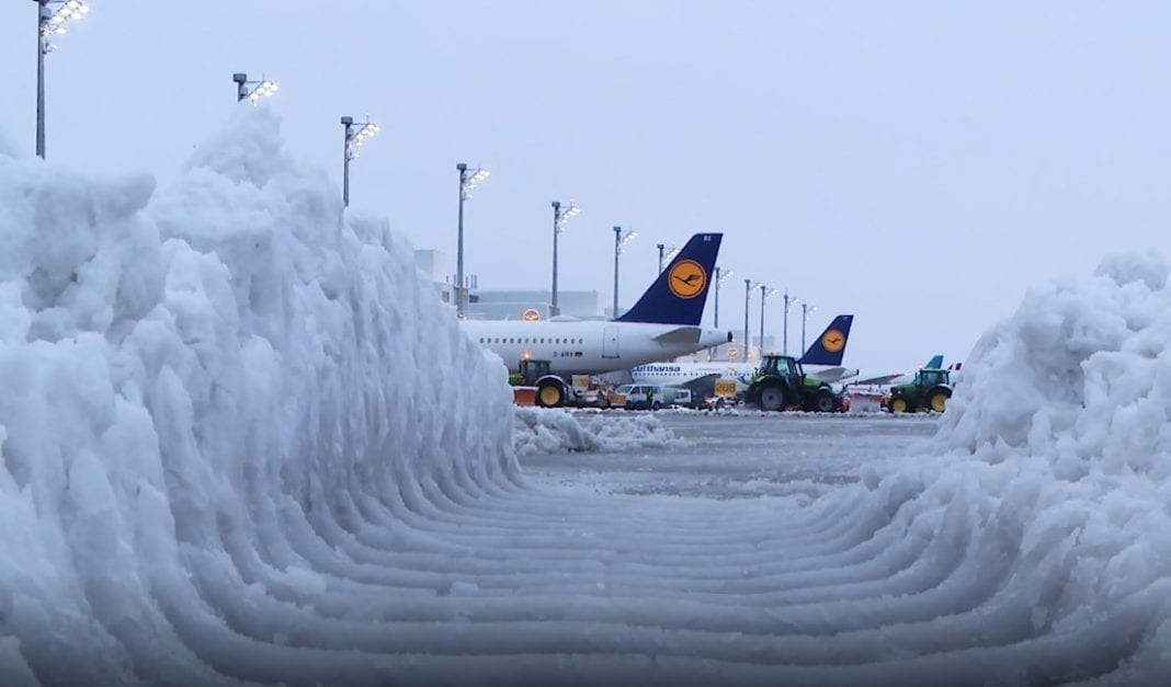 Safe air travel in winter