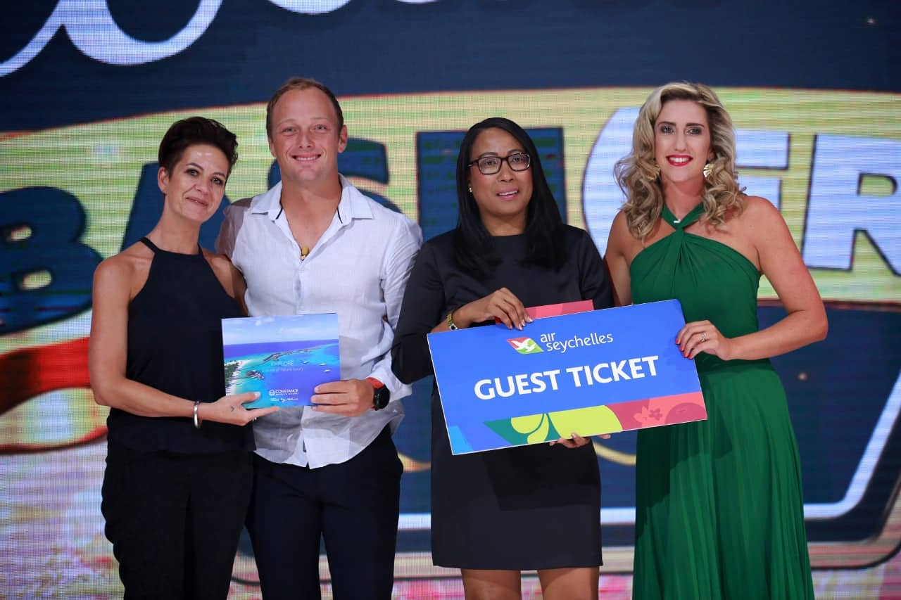 Seychelles award winners at M-Net's The Wedding Bash(ers) season 2 finale