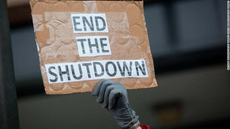 US Tourism industry presses for shutdown to government shutdown
