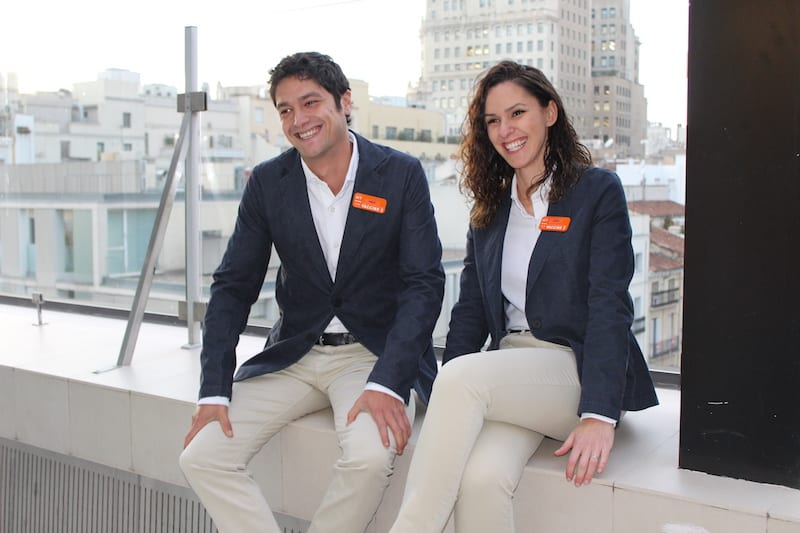 Hotel uniforms: 100 percent recycled!