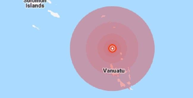 6.6 earthquake strikes Vanuatu