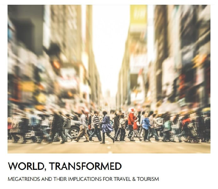 New WTTC report identifies global megatrends for travel and tourism