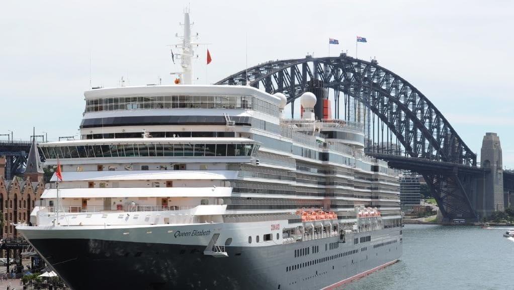 Cunard's Queen Elizabeth returns to Australia