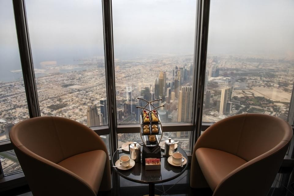 World's highest lounge opens to public in Dubai