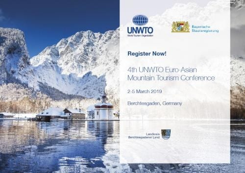 Berchtesgadener welcomes UNWTO Euro-Asian Mountain Tourism Conference