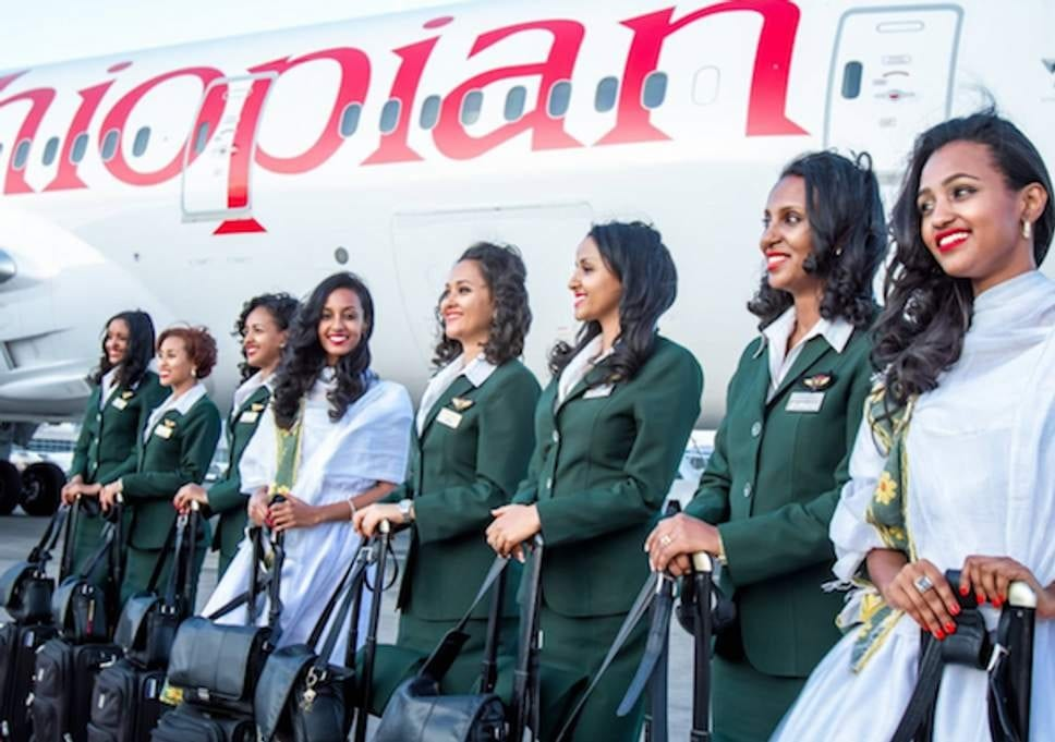 Image result for pictures of flight attendants in the ethiopian plane crash