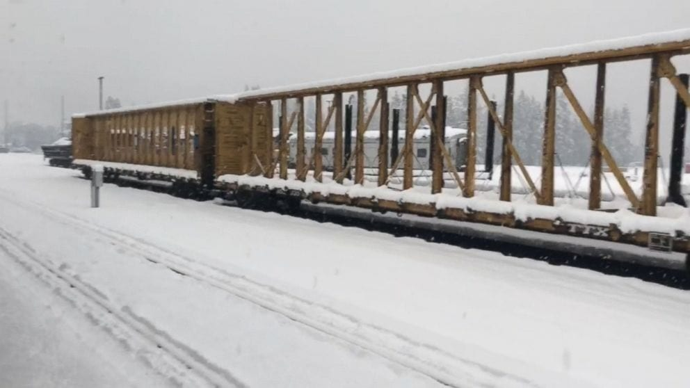 183 passengers trapped on Amtrak train, stranded in snow since Sunday